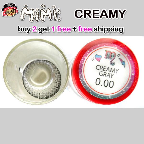 MIMI CREAMY GRAY CONTACT LENS