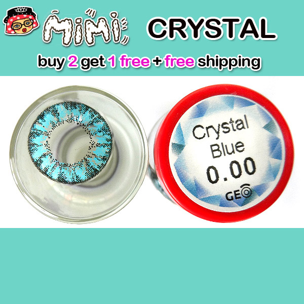 MIMI CRYSTAL BLUE CONTACT LENS
