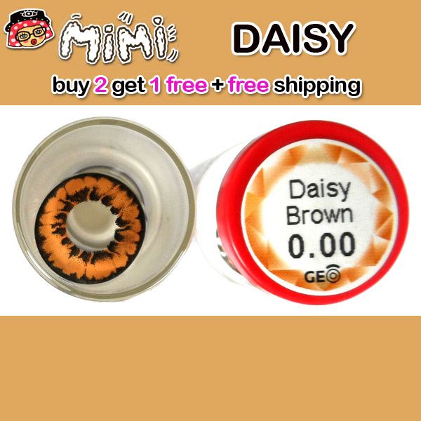 MIMI DAISY BROWN CONTACT LENS