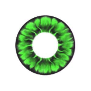 MIMI DAISY GREEN CONTACT LENS