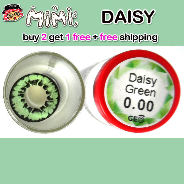 MIMI DAISY GREEN CONTACT LENS