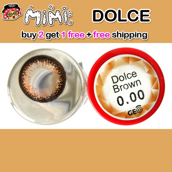 MIMI DOLCE BROWN CONTACT LENS