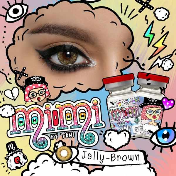 MIMI JELLY BROWN CONTACT LENS
