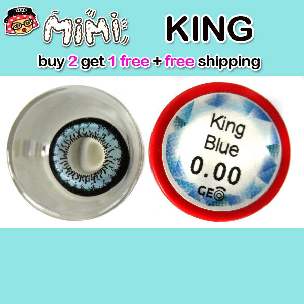 MIMI KING BLUE CONTACT LENS