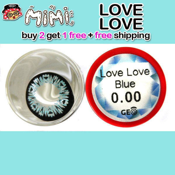 MIMI LOVE LOVE BLUE CONTACT LENS