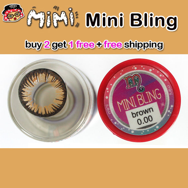 MIMI BLING BROWN CONTACT LENS