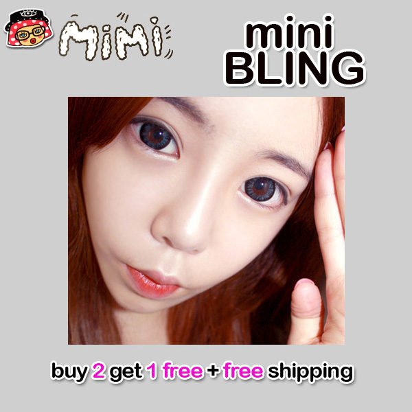 MIMI BLING GRAY CONTACT LENS