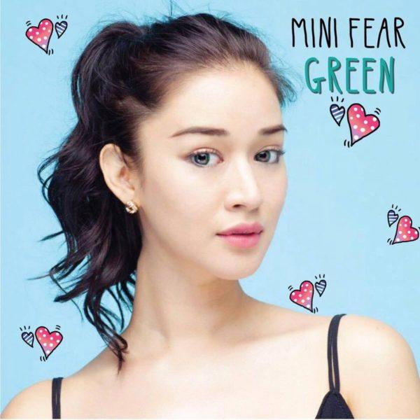 MIMI MINI FEAR GREEN CONTACT LENS