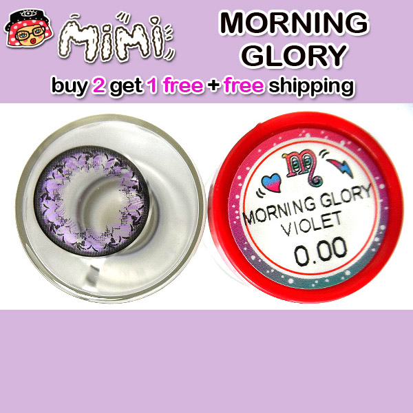 MIMI MORNING GLORY VIOLET CONTACT LENS