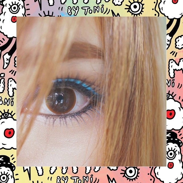 MIMI NAKED BROWN CONTACT LENS