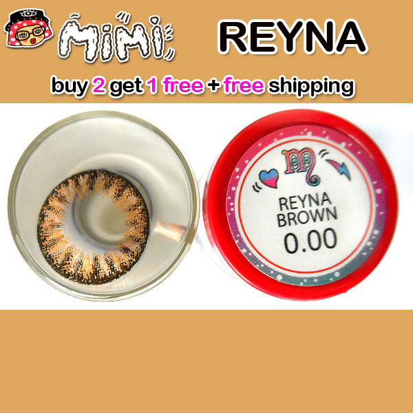 MIMI REYNA BROWN CONTACT LENS