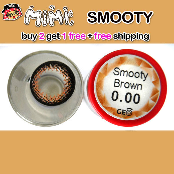 MIMI SMOOTY BROWN CONTACT LENS