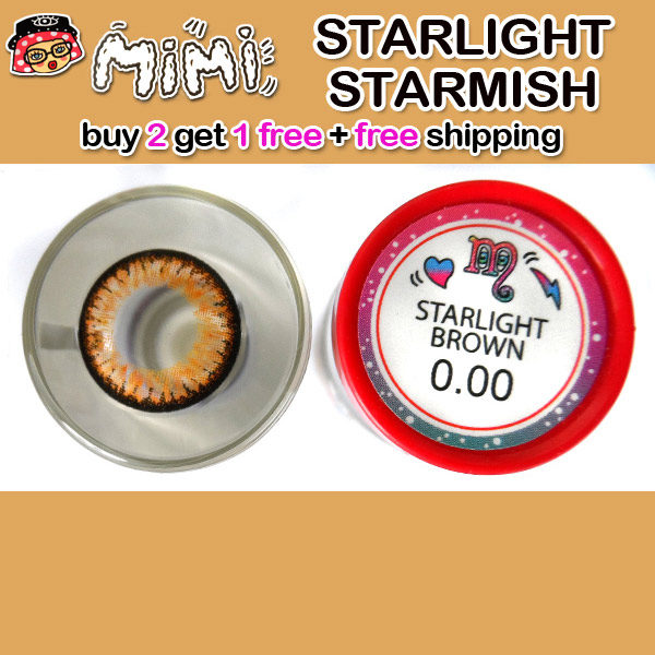 MIMI STARLIGHT BROWN CONTACT LENS