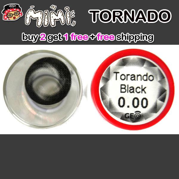 MIMI TORNADO BLACK CONTACT LENS