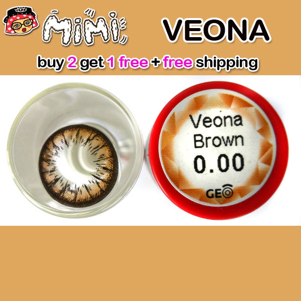 MIMI VEONA BROWN CONTACT LENS