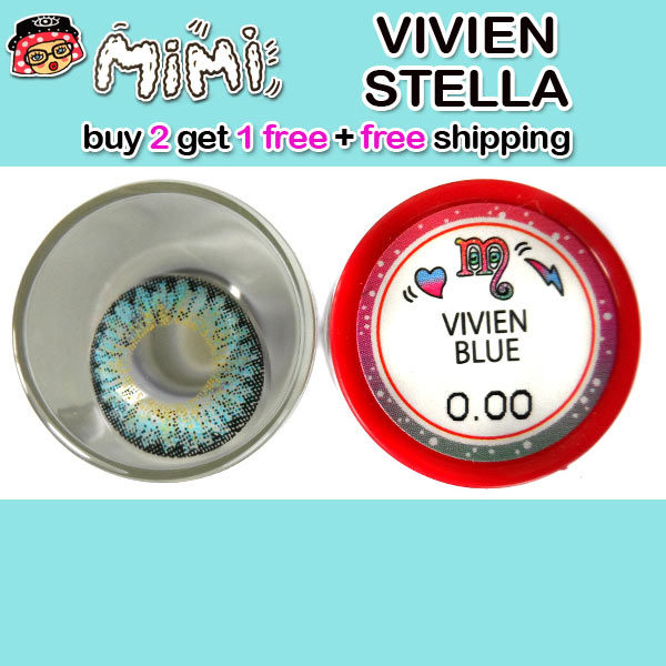 MIMI VIVIEN BLUE CONTACT LENS