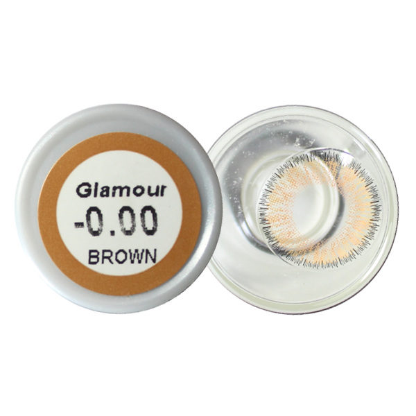 NEO VISION GLAMOUR BROWN CONTACT LENS