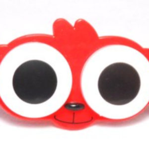 Big Eyes Animal Zoo Red Monkey Contact Lens Case