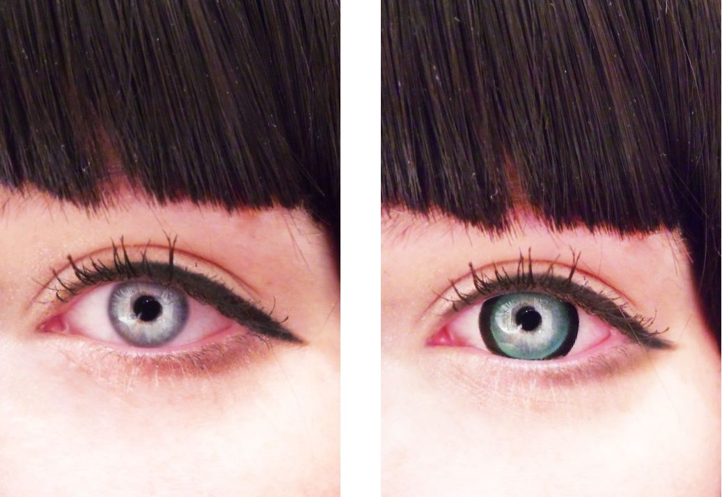 VASSEN SAKURA GREEN CONTACT LENS