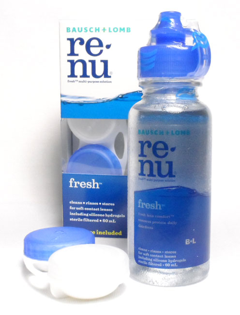 BAUSCH & LOMB RENU MULTIPLUS MULTI-PURPOSE SOLUTION WITH TRI-ACTION FORMULA 60 M