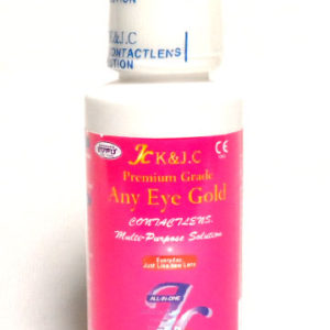 ANY EYE MULTI-PURPOSE DISINFECTING SOLUTION 40ML ALL IN ONE PORTABLE SOLUTION CA