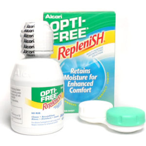 ALCON OPTI-FREE REPLENISH NEW FORMULA MULTI-PURPOSE DISINFECTING SOLUTION 60 ML