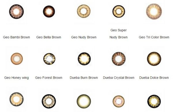 EASY BUY: SUPRISE BROWN CONTACT LENS