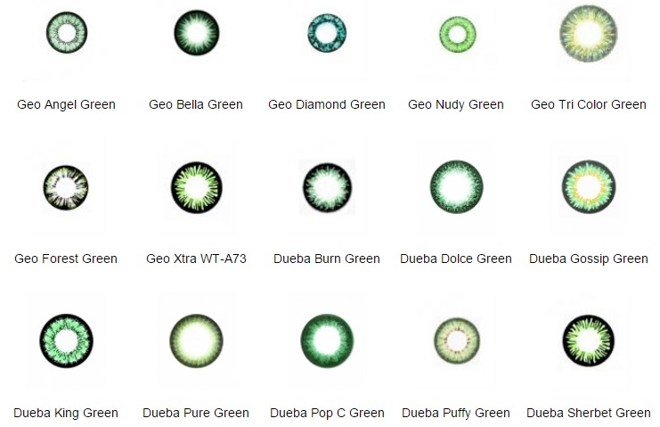 EASY BUY: SUPRISE GREEN CONTACT LENS