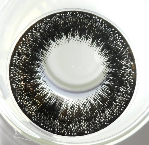 VASSEN SCARLET BLACK CONTACT LENS
