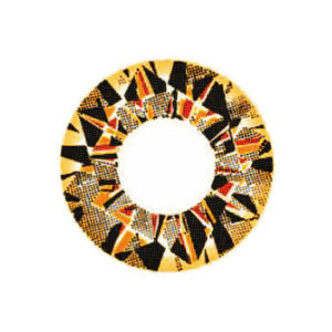 VASSEN DIAMOND 3 TONE BROWN CONTACT LENS