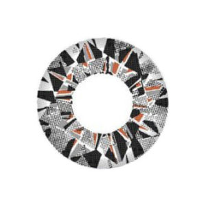 VASSEN DIAMOND 3 TONE GRAY CONTACT LENS