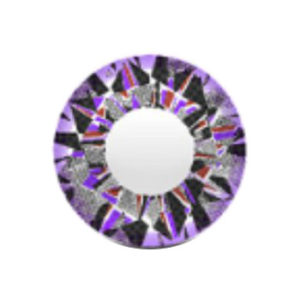 VASSEN DIAMOND 3 TONE VIOLET CONTACT LENS