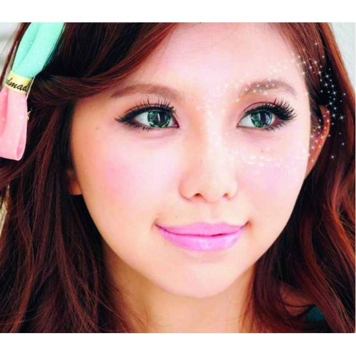 VASSEN DIAMOND GREEN CONTACT LENS
