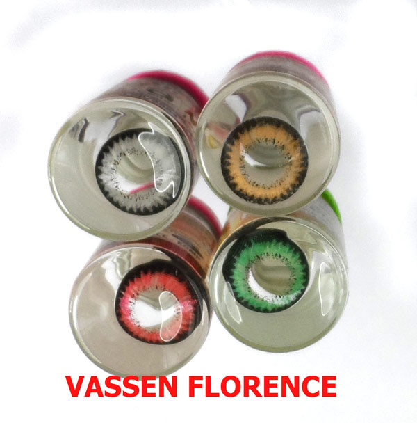 VASSEN FLORENCE BLACK CONTACT LENS