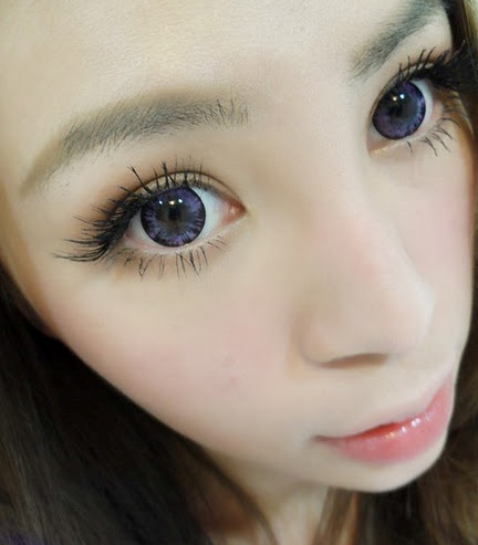 VASSEN FOREST VIOLET CONTACT LENS