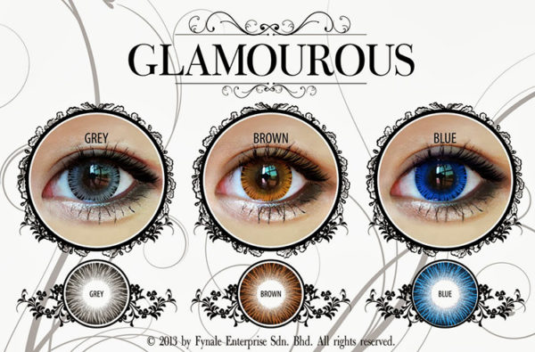 VASSEN GLAMOUROUS GOLD CONTACT LENS