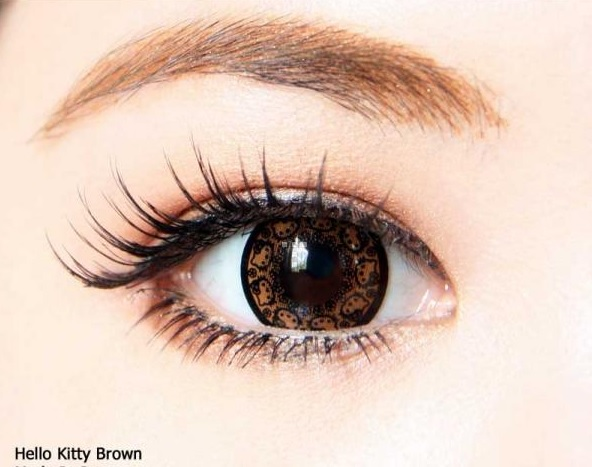 VASSEN KITTY BROWN CONTACT LENS