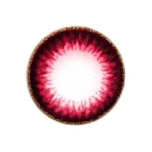 VASSEN PLATINUM RED CONTACT LENS
