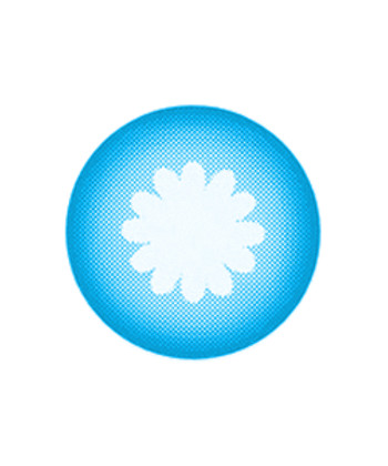 VASSEN LORENZ BLUE CONTACT LENS