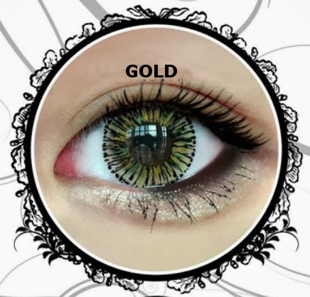 VASSEN MELLOW GOLD CONTACT LENS
