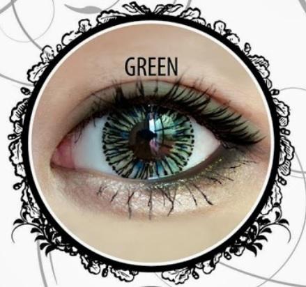 VASSEN MELLOW GREEN CONTACT LENS