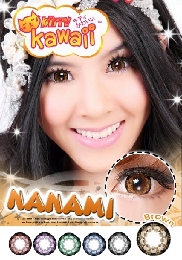 VASSEN NANAMI BROWN CONTACT LENS