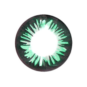 VASSEN RAINBOW GREEN CONTACT LENS