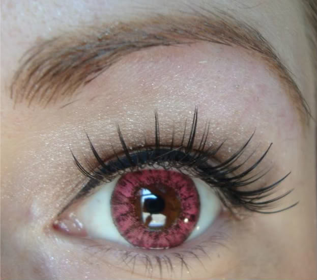 VASSEN CRYSTAL PINK CONTACT LENS