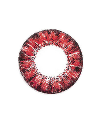 VASSEN CRYSTAL RED CONTACT LENS