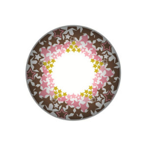 VASSEN TWINKLE STAR BROWN CONTACT LENS