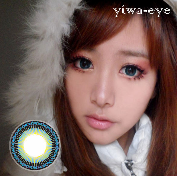VASSEN YIWA BLUE CONTACT LENS