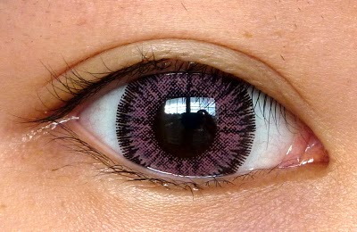 VASSEN GLAMOUR PINK CONTACT LENS