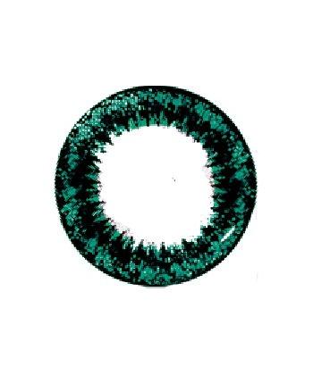 VASSEN SCARLET GREEN CONTACT LENS