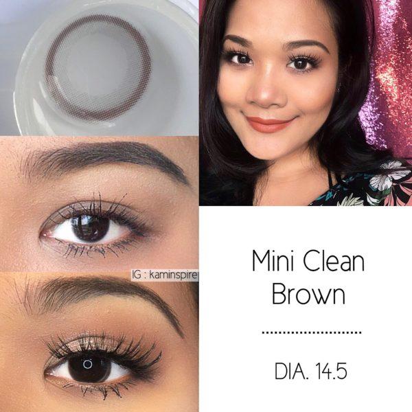 Vassen Mini Cleen Brown Contact Lens